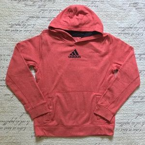 🔺4 FOR $20🔻 Peach Speckled Adidas Hoodie